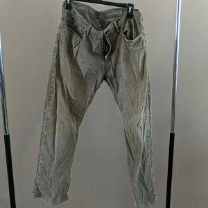 Gap corduroy pants light brown excellent condition